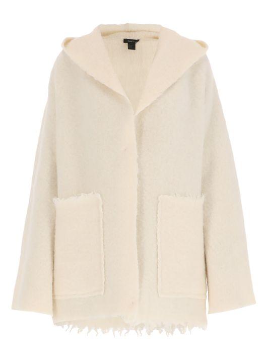 Alpaca blend jacket