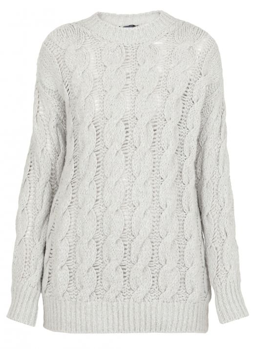 Cotton wool and cashmere sweater