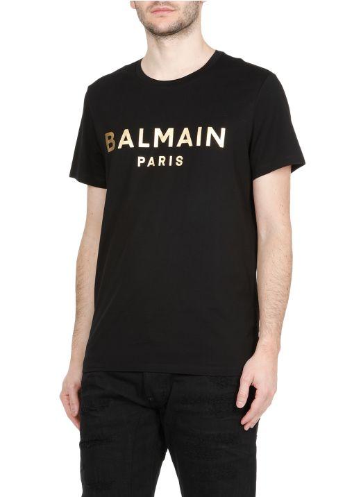 Laminated logo T-shirt