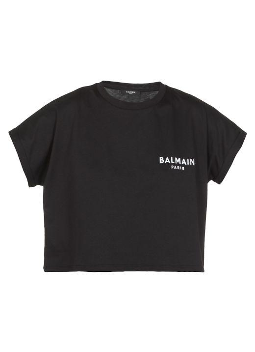 Oversized T-shirt with logo