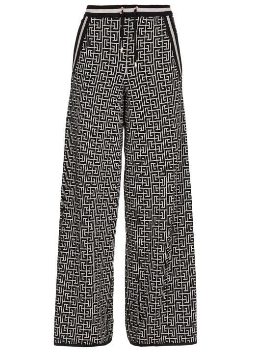 Monogram trouser