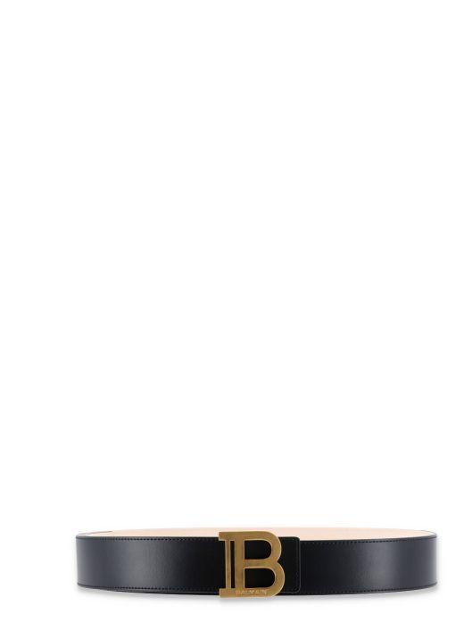B-Belt leather belt