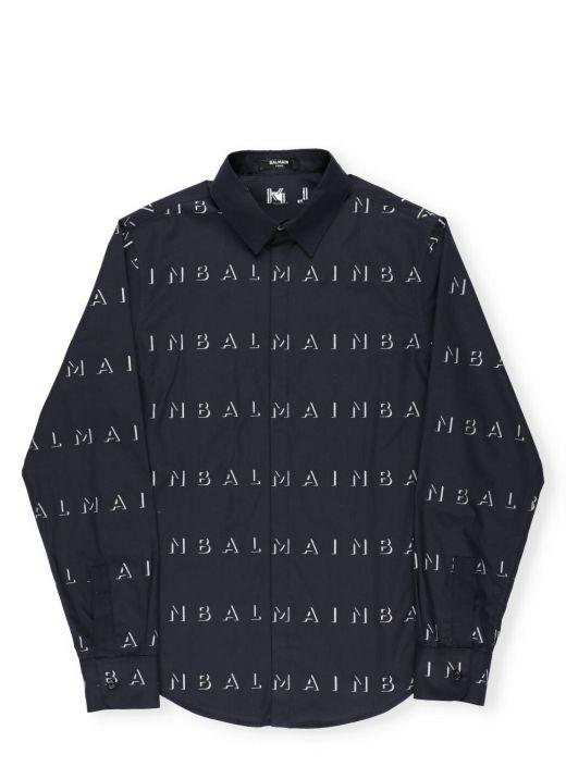 Shirt with logo