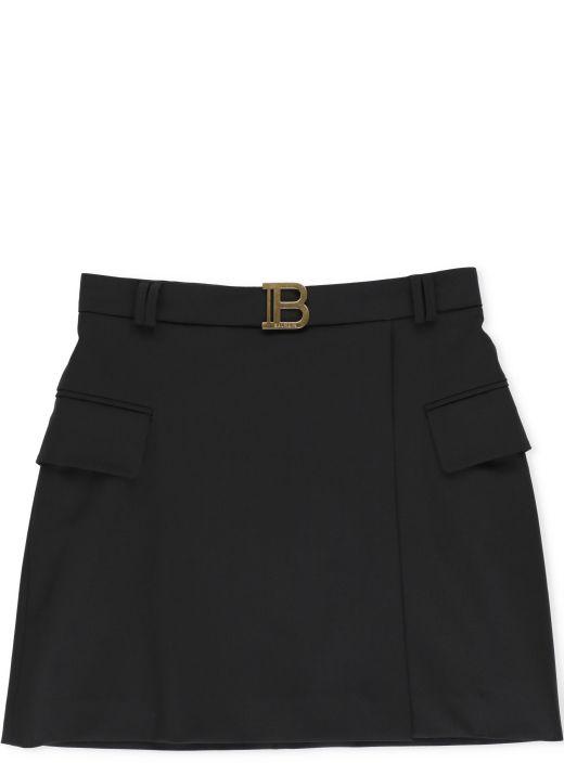 Short low waist skirt