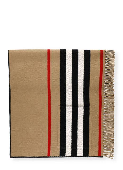 Icon stripe cape