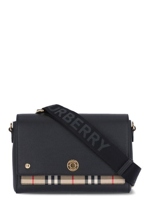 Vintage Check Note Bag