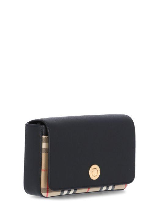 Vintage check bag