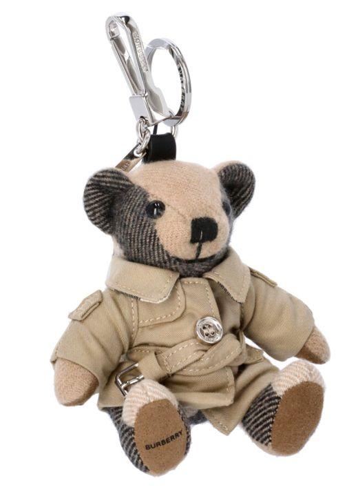 Thomas trench bear keychain