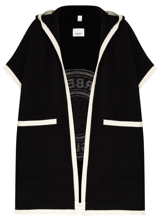 Wool and Cashmere Hooded Cloak