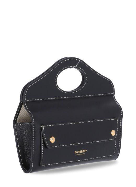 Pocket mini clutch bag