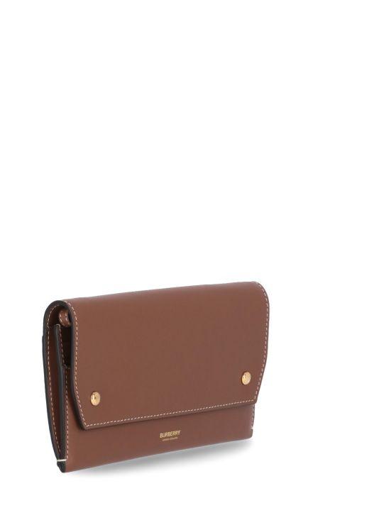 Leather phone holder