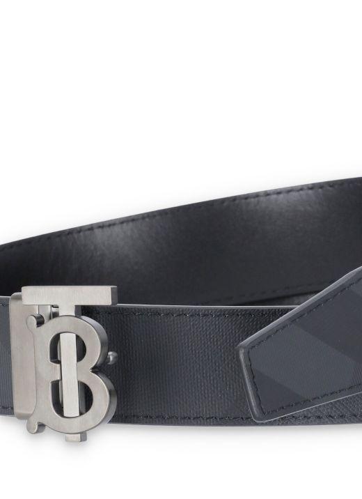 London Check belt