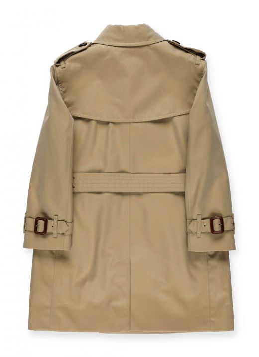Cotton waterproof trench