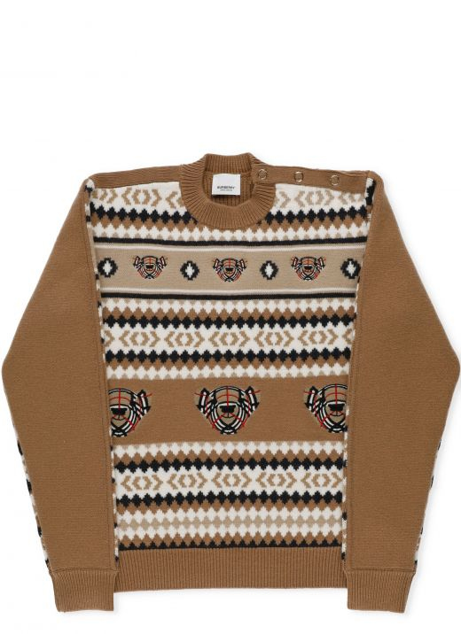 Wool and cashemere sweater