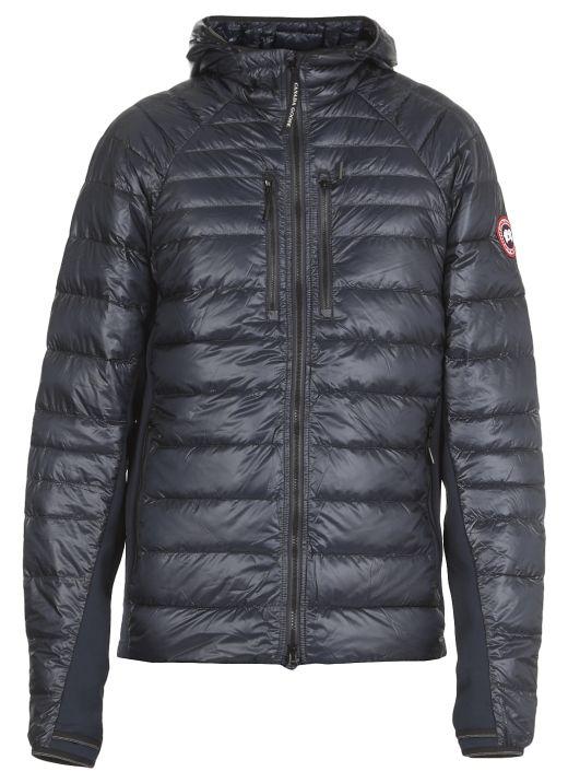 Hybridge down jacket