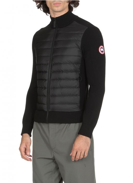 Hybridge knitted jacket