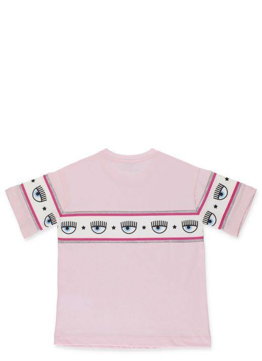 Chiara Ferragni x Monnalisa: Maxilogomania T-shirt