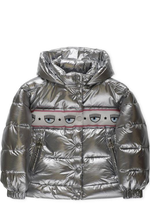 Maxilogomania down jacket