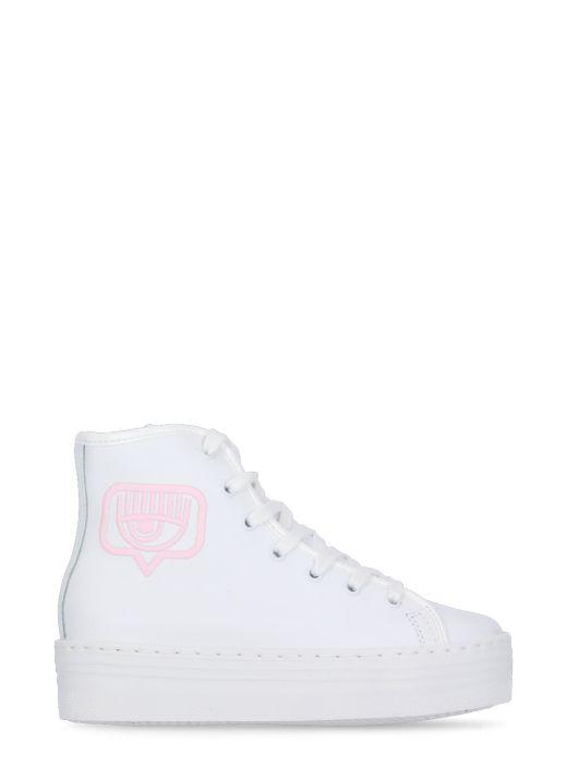 Hi top Eyelike sneakers