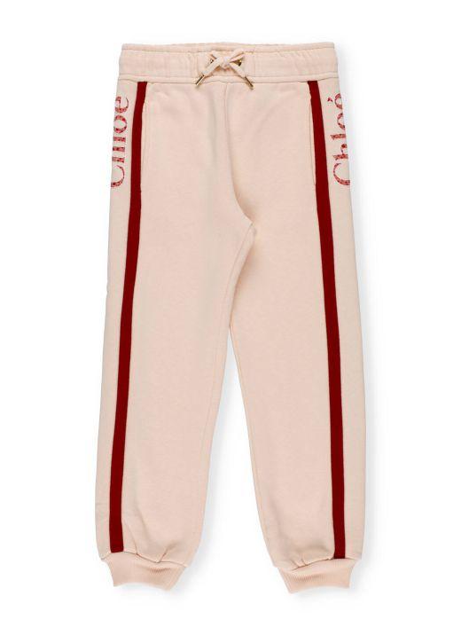 Pantalone con logo