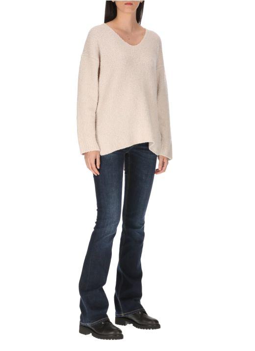 Wool blend sweater