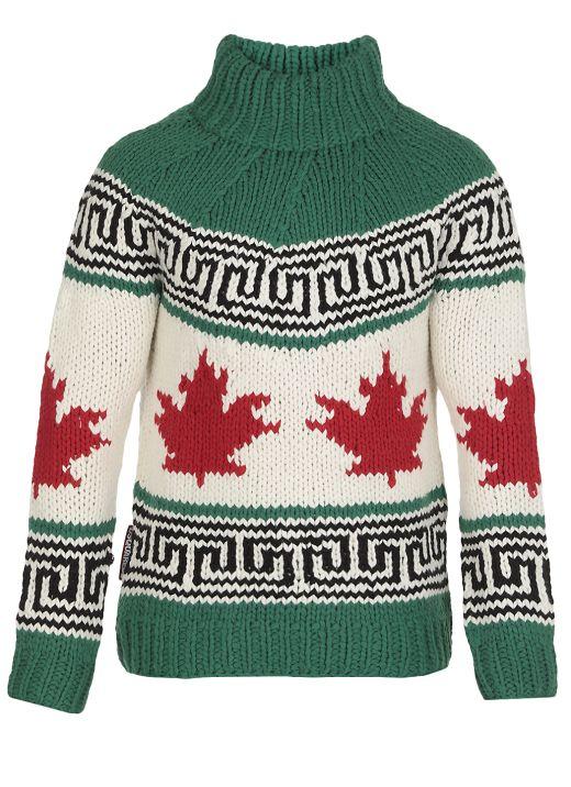 Big Leaf Sweater