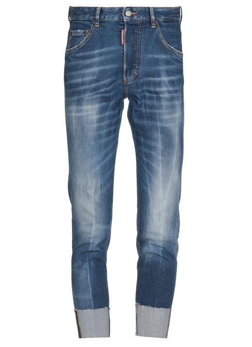 Skinny Dan Cropped Jeans