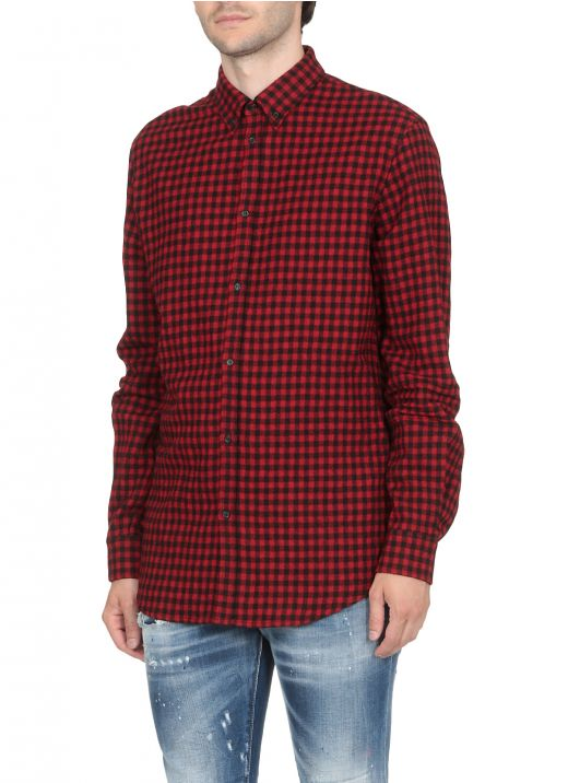 Relaxed Check Shirt