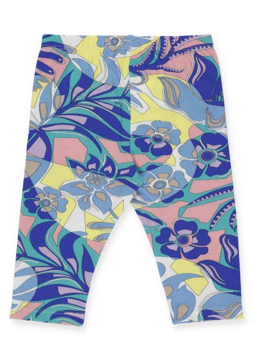 Samoa print legging