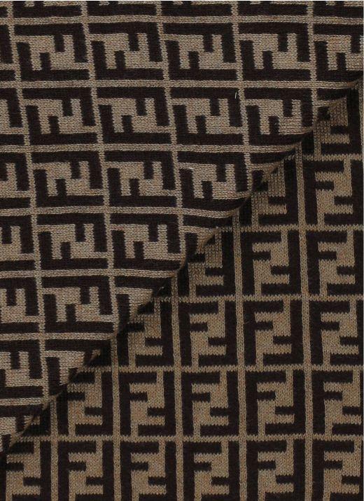 Blanket with monogram