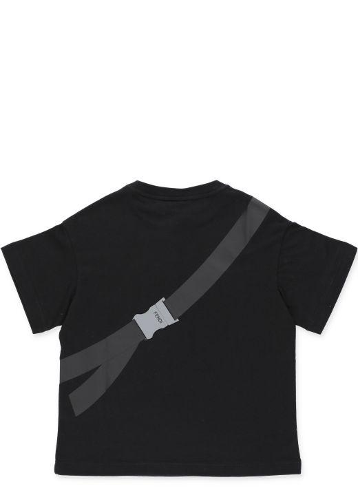 T-shirt with Beltbag print