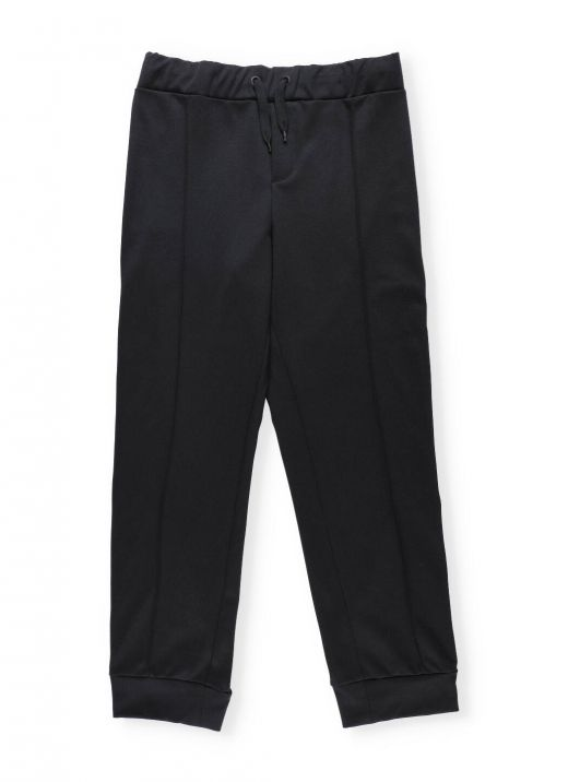 Trackpant with loged bend