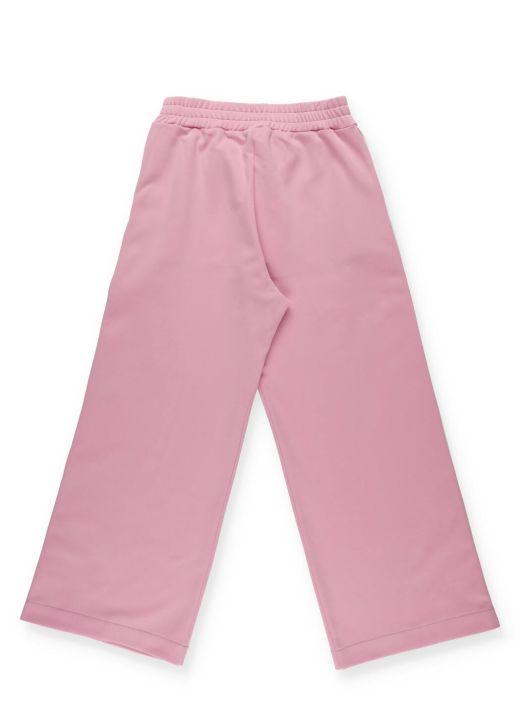 Pantalone con monogramma