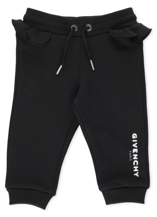 Pants with ruffles