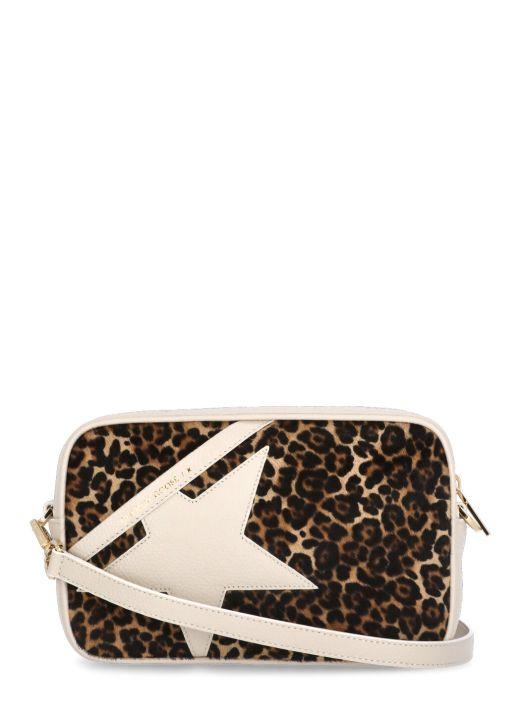 Leopard cowhide Star Bag
