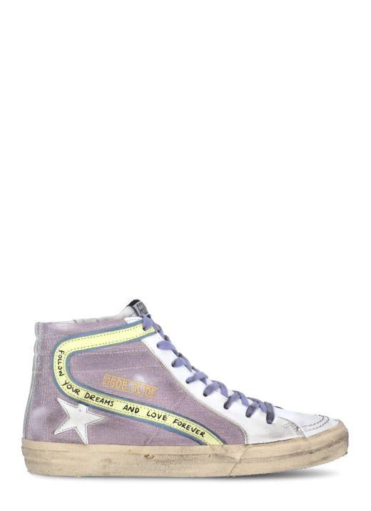 Slide Checkered Sneaker
