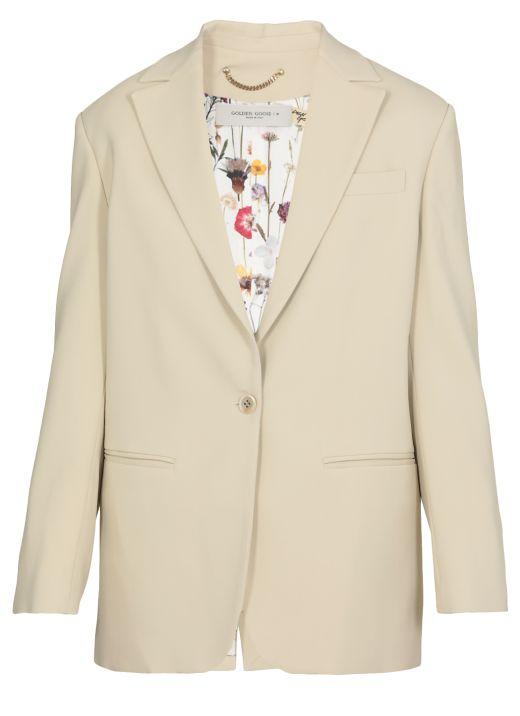 Bova one-breasted blazer