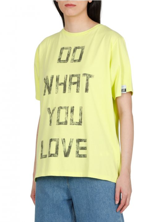 T-shirt in cotone oversize