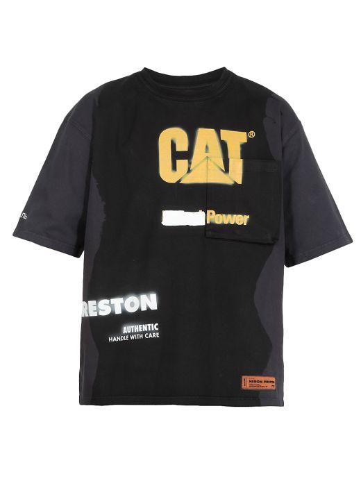 Cat PKT Power t-shirt