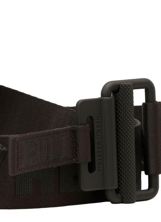Loged fabric belt
