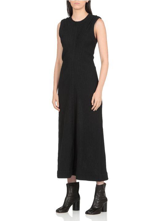Cotton jersey long dress