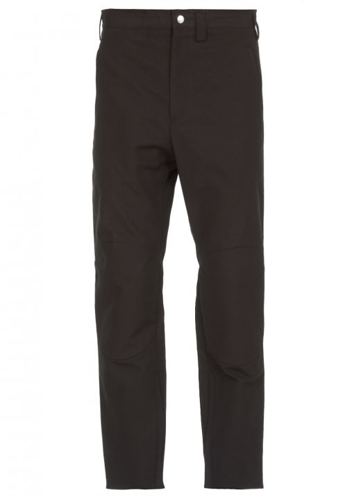 Trouser with zip at ankles