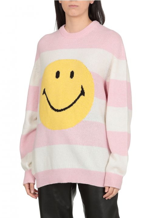 Striped Smiley sweater