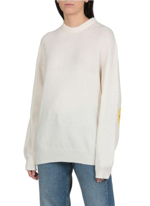 Elbows Smiley sweater