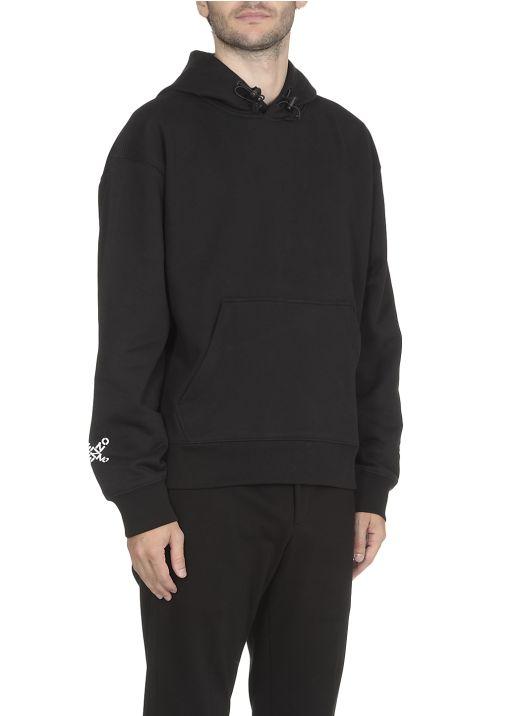 Loged hoodie