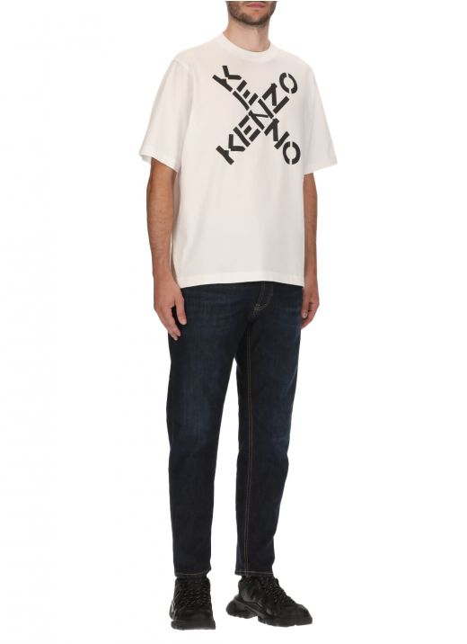 Cotton t-shirt with logo