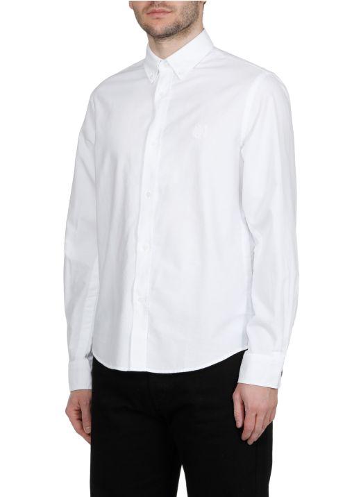 Cotton shirt with logo