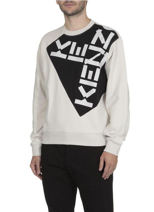 Loged print sweatshirt