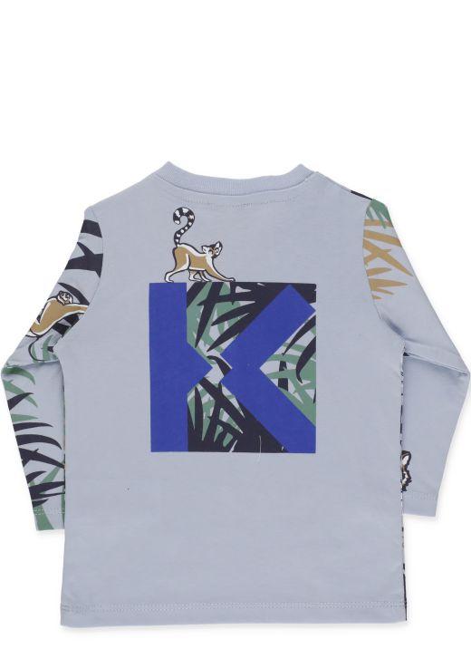 Multi print t-shirt