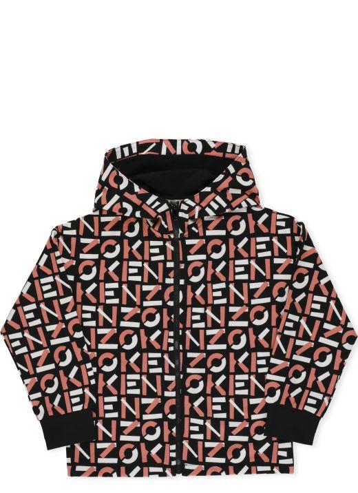Logo track jacket